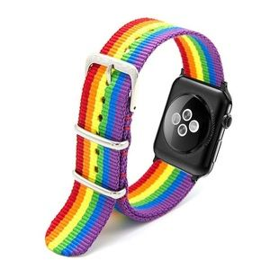 Accessories - 🌈Rainbow Nylon Band for Apple Watch Series 4321